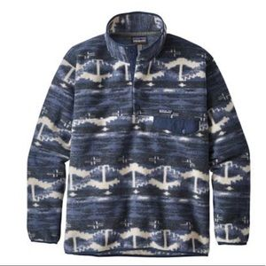 Patagonia Synchilla Snap T Shepherd Knit Pullover